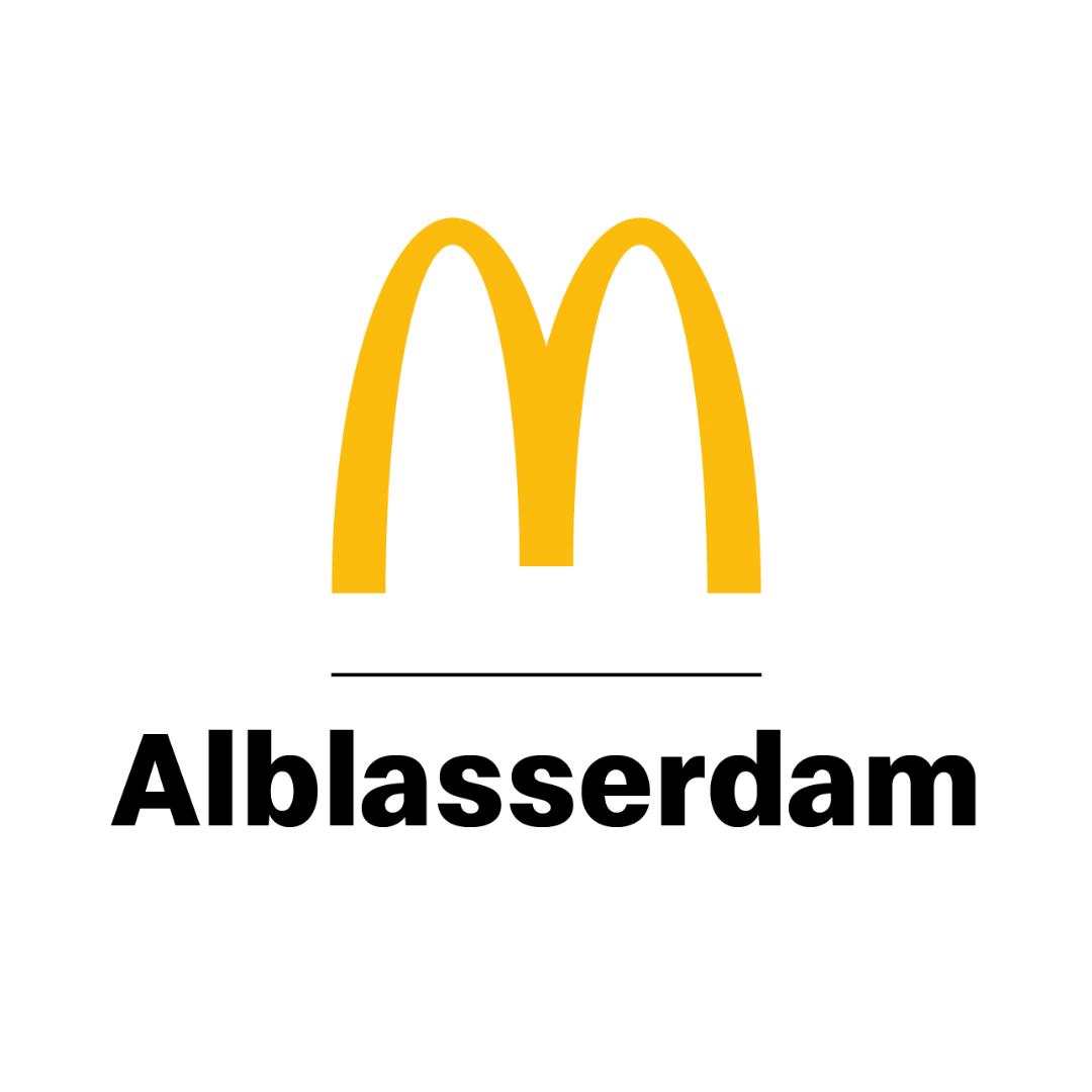 Logo McDonald's Alblasserdam - BrightLink